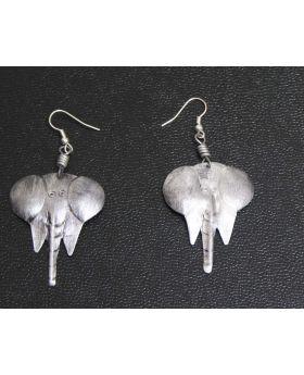 Aluminium Elephant Earrings