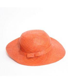 Medium brim raffia hat