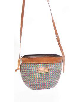 Kiphya sisal purse
