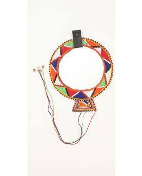 Maasai Wedding Necklace Mirror