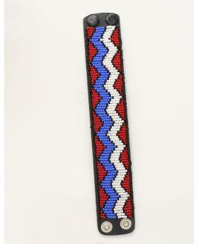 Leather Maasai Bracelet