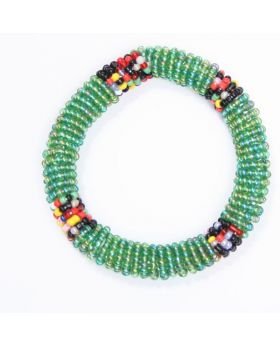 Children beaded glass bracelet