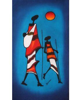 Batik art painting