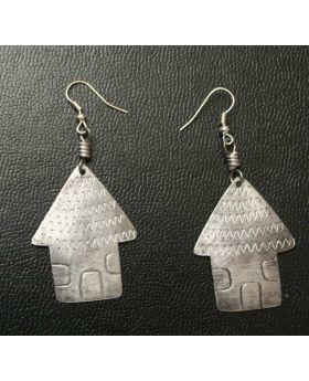Aluminium Hut  Earrings