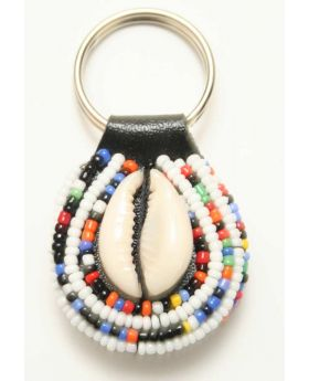 Beaded Maasai Key chain
