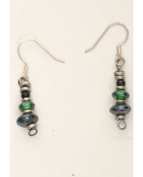 Silver & Glass Earrings