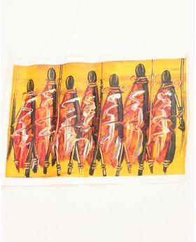 Massai returning home