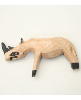 Rhino Fridge Magnet
