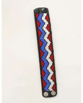 Leather Maasai Bracelet