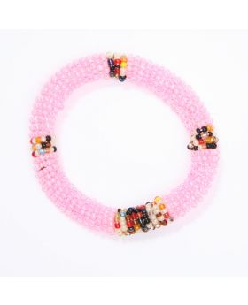 Children beaded glass bracelet