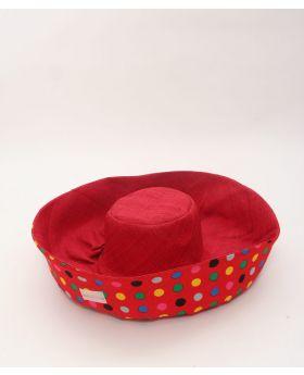 Large brim raffia hat